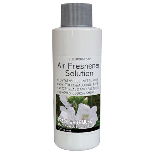 イサムコーポレーション Air Freshener専用アロマソリューション(フレッシュホワイトムスク 120ml) NC40283【返品種別A】