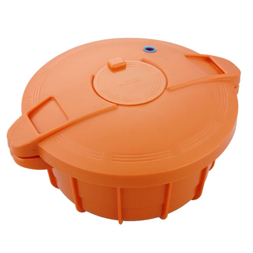 電子レンジ圧力鍋 MPC-2.3OR [オレンジ]