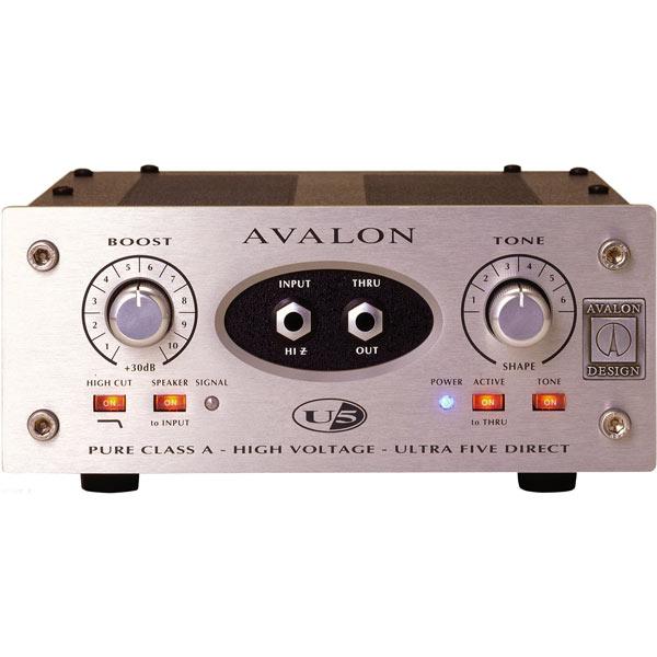 AVALON DESIGN U5 Mono Instrument & DI Preamplifier