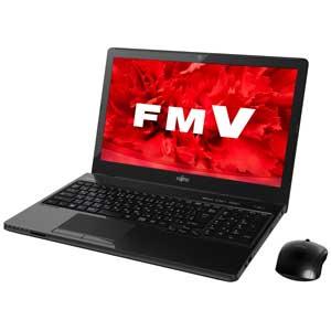 FMV LIFEBOOK AH53/U FMVA53UB [�V���C�j�[�u���b�N]
