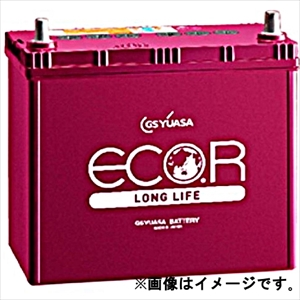 ジーエス・ユアサ ECO.R LONG LIFE EL-70B24L/N-55