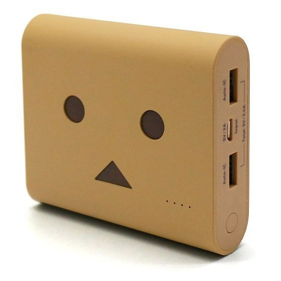 cheero Power Plus 3 DANBOARD version CHE-067-BR [ライトブラウン]