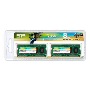 Silicon Power SP008GLSTU160N22DA [SODIMM DDR3L PC3-12800 4GB 2���g]