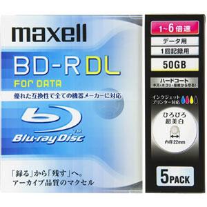BR50PWPC.5S (BD-R DL 6倍速 5枚組)