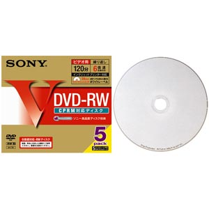 10DMW12HPS6 (DVD-RW 6�{�� 10���g)