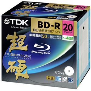 TDK BRV50HCPWB20A [BD-R DL 4�{�� 20���g]