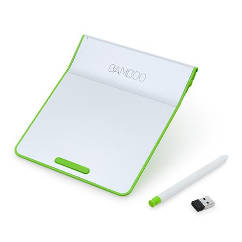 Bamboo Pad Wireless CTH300E [�p�[���z���C�g�E�O���[��]