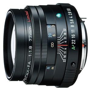 FA77mmF1.8 Limited (ブラック)