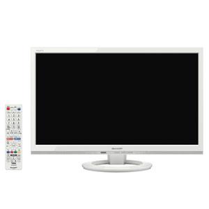 AQUOS LC-22K45-W [22インチ ホワイト系]
