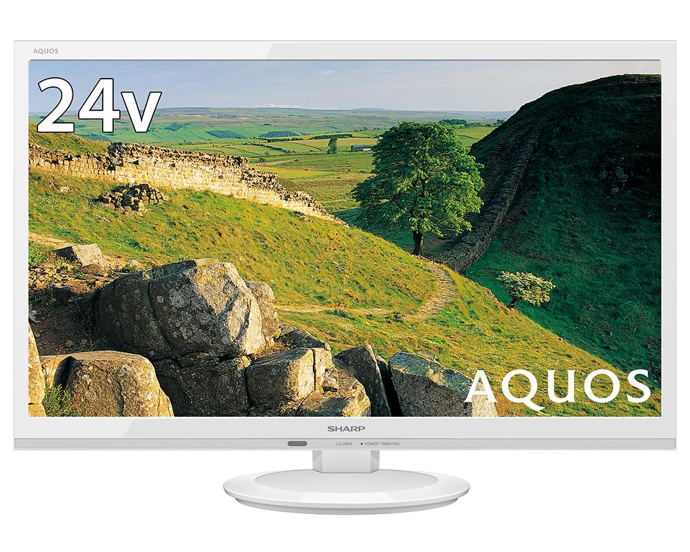 AQUOS LC-24P5-W [24インチ ホワイト系]