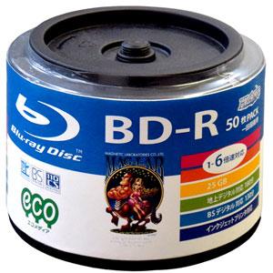 HI-DISC HDBDR130RP50HB [BD-R 6�{�� 50���g]