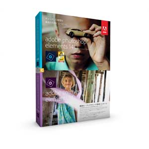 Adobe Adobe Photoshop Elements 14 & Adobe Premiere Elements 14 ��{�� �抷���E�A�b�v�O���[�h��