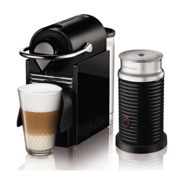 ネスレ Nespresso PIXIE CLIPS バンドルセット C60BYA3B [ブラック&レモンイエロー]