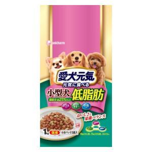 ユニ・チャーム 愛犬元気 小型犬用 低脂肪 ささみ・緑黄色野菜・小魚入り 1kg 【返品種別B】