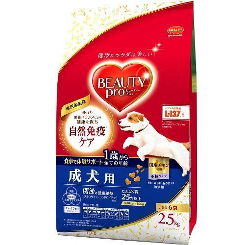 日本ペットフード ビューティーD成犬用2.5kg 【返品種別B】