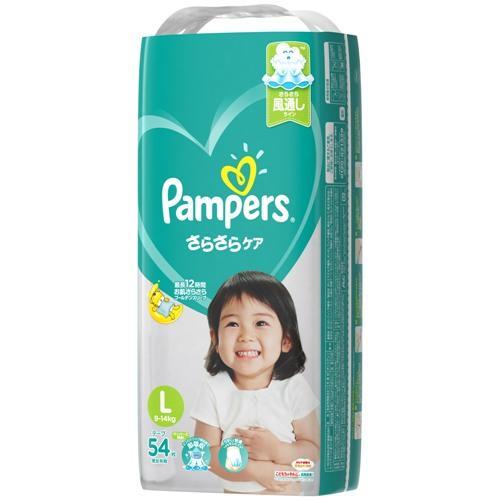 P&GJapan パンパースさらさらケアテープ スーパ ジャンボ L54枚 【返品種別B】