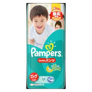 P&GJapan パンパースさらさらケアパンツ スーパージャンボ ビッグ38枚 【返品種別B】